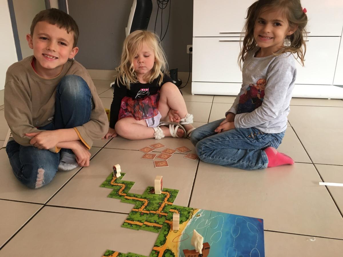 Karuba junior: un jeu original, simple et efficace dès le plus jeuneâge!
