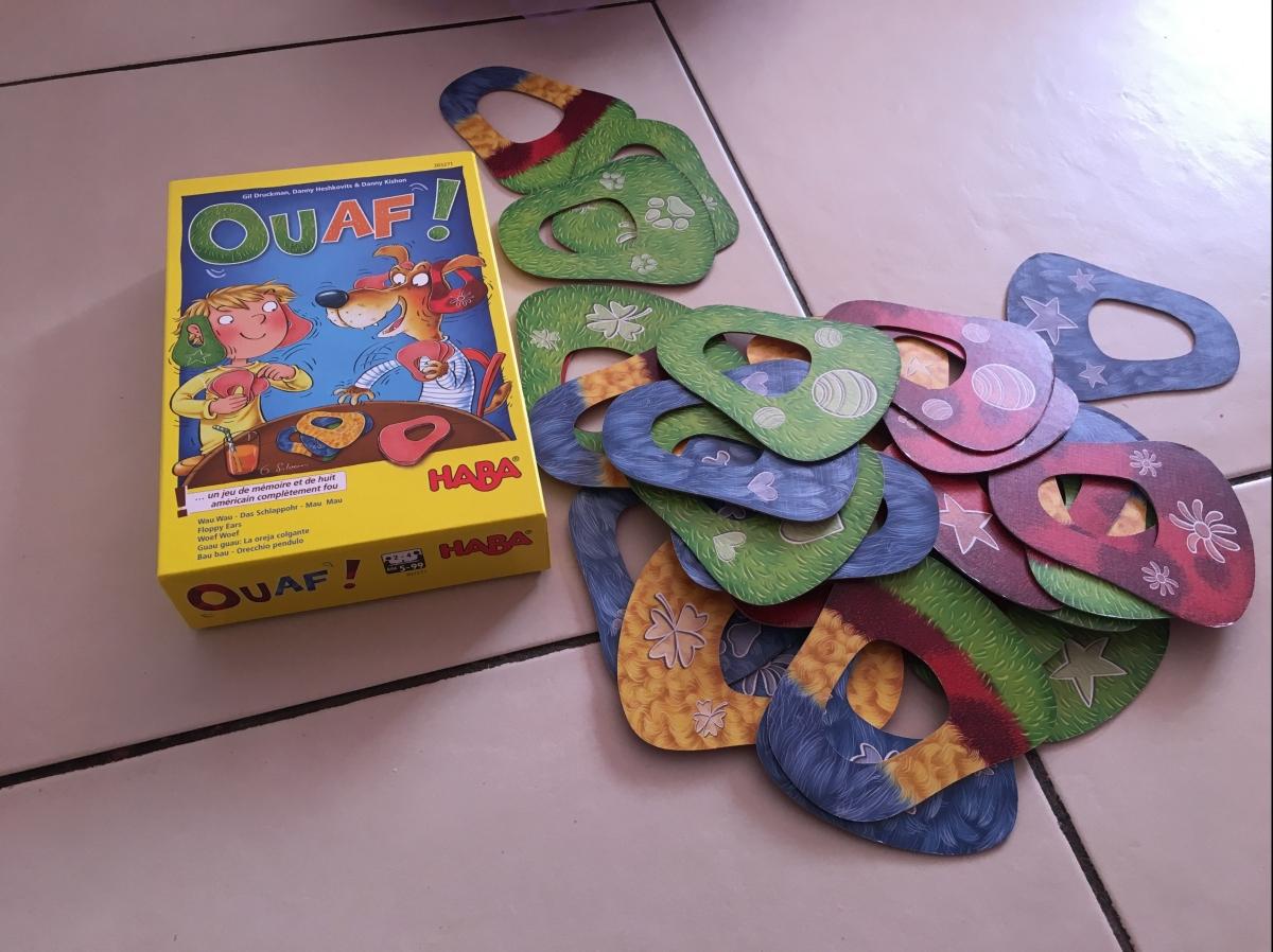 Ouaf: Un jeu surprenant et amusant pour les petits et lesgrands!