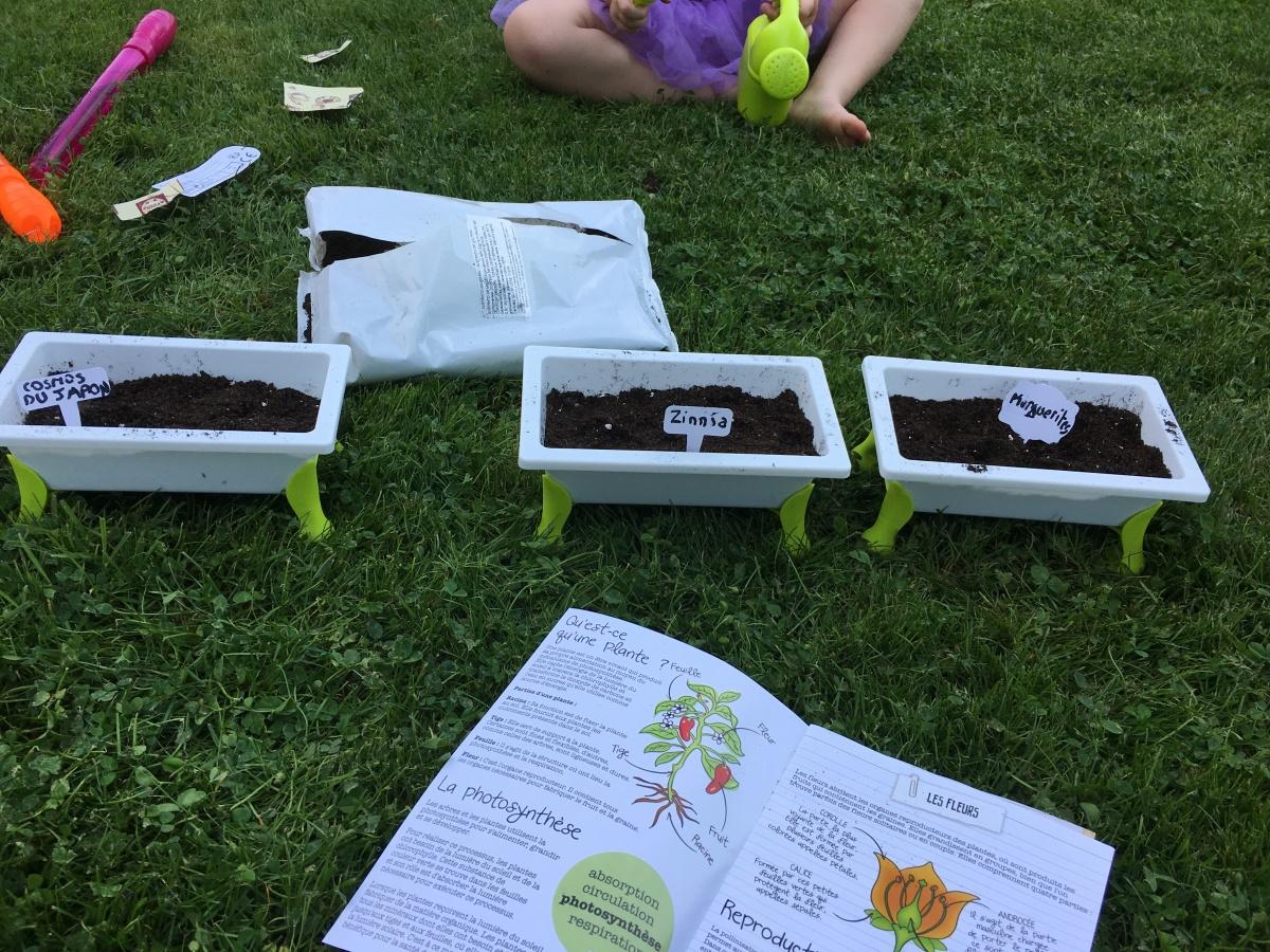 Kid's Garden: le jeu idéal pour nos petits jardiniers enherbe!