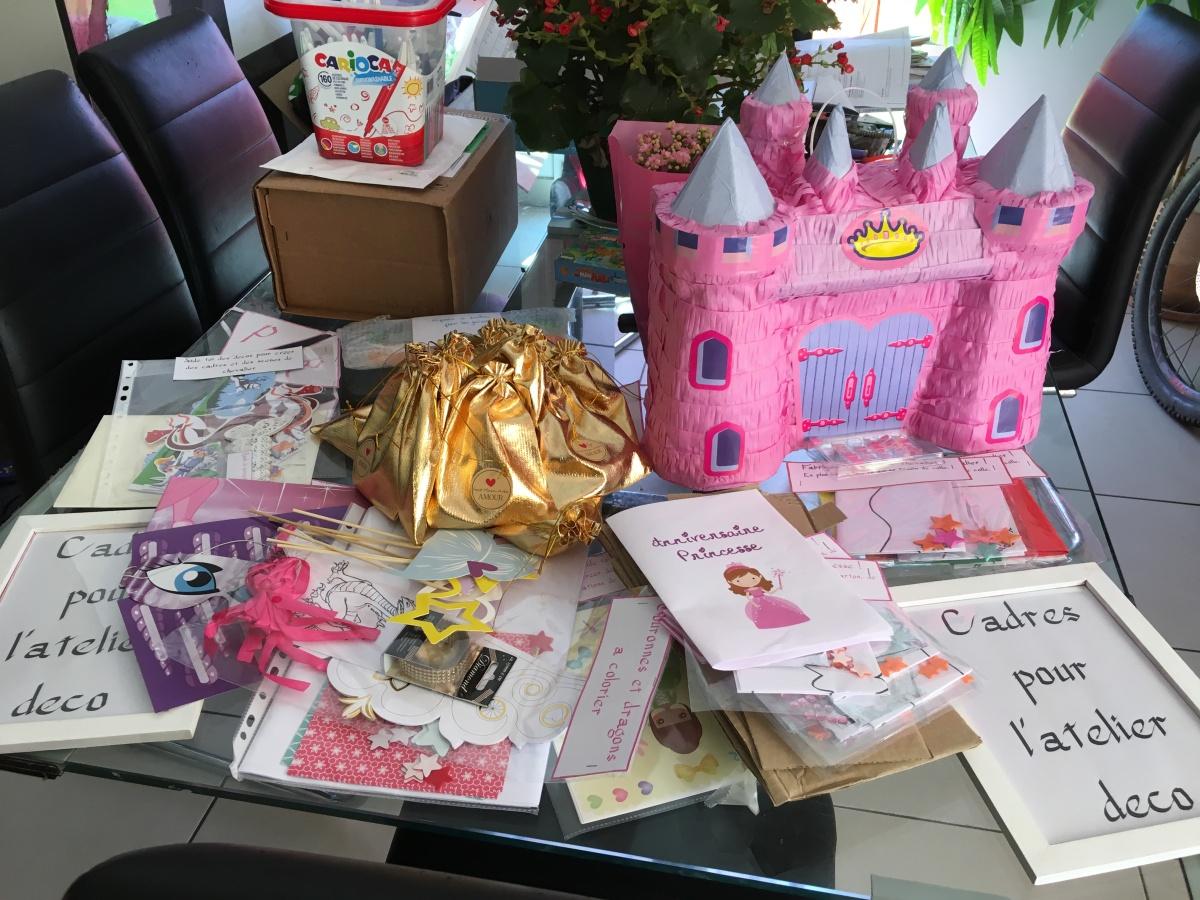 Un anniversaire idéal pour Camillette la princesse (partie2)!