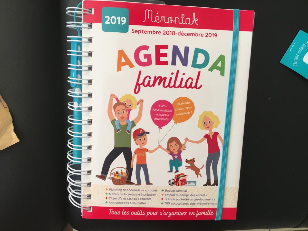 Mon agenda familial: une aide au quotidien qui ne me quitteplus!