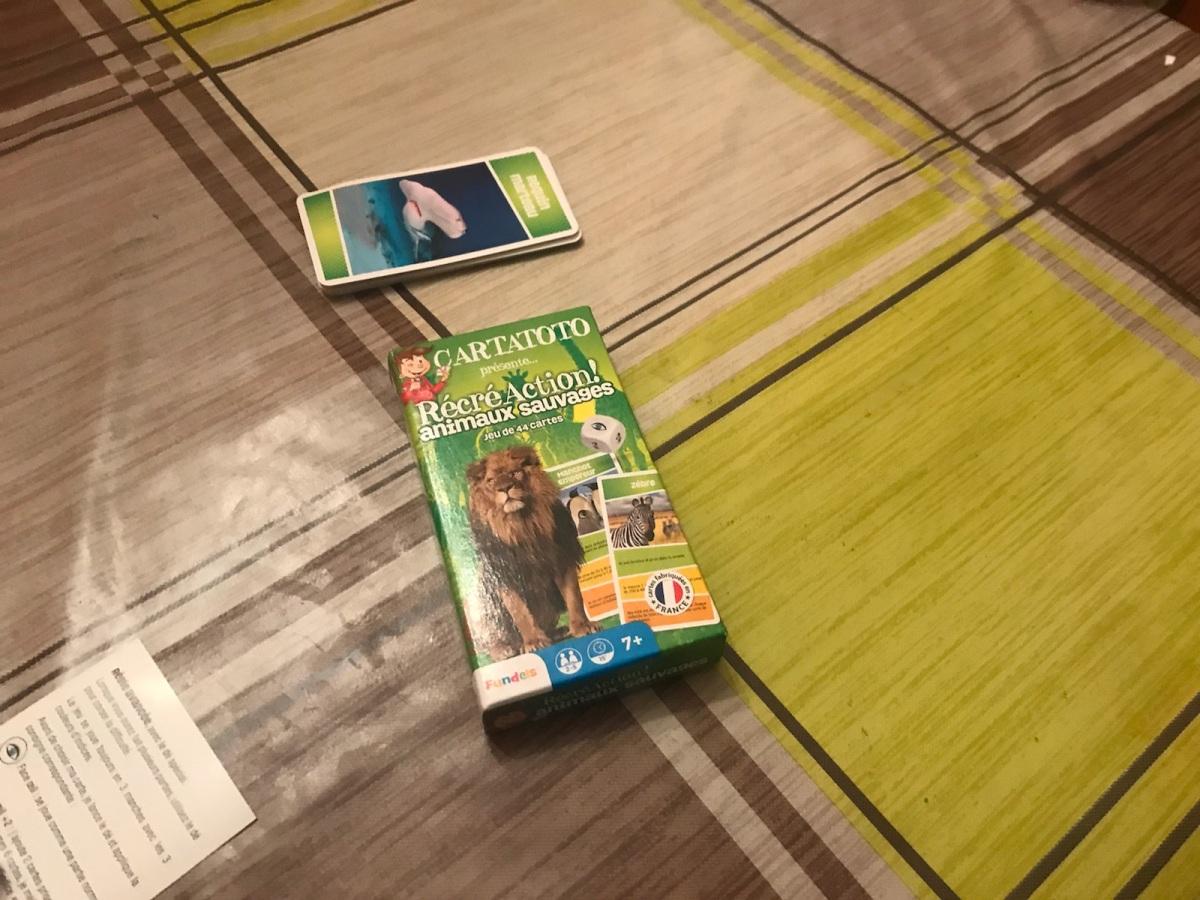 RécréAction! Animaux sauvages: un jeu de cartes éducatif etpassionnant!