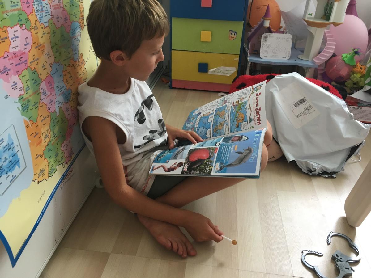 La Kube jeunesse: un abonnement idéal pour nos apprentislecteurs!