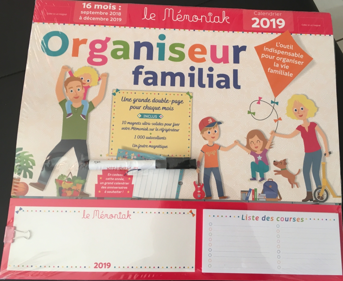 L'organiseur familial Memoniak: notre allier auquotidien!