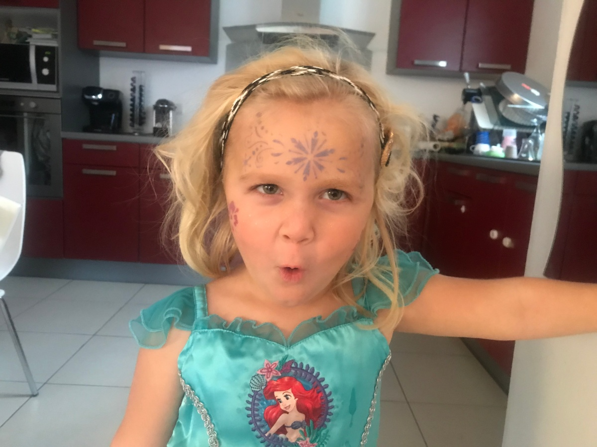 Le super anniversaire licorned'Anaïs!