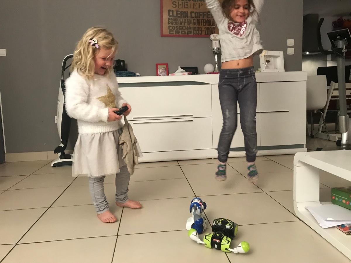 Des robots pour se défouler et s'amuser à toutâge!
