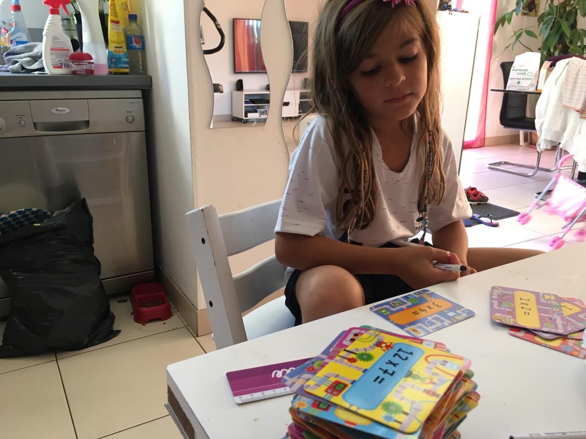 Les tables de multiplication n'auront plus aucun secret pour Camille et mes élèves grâce àUsborne!