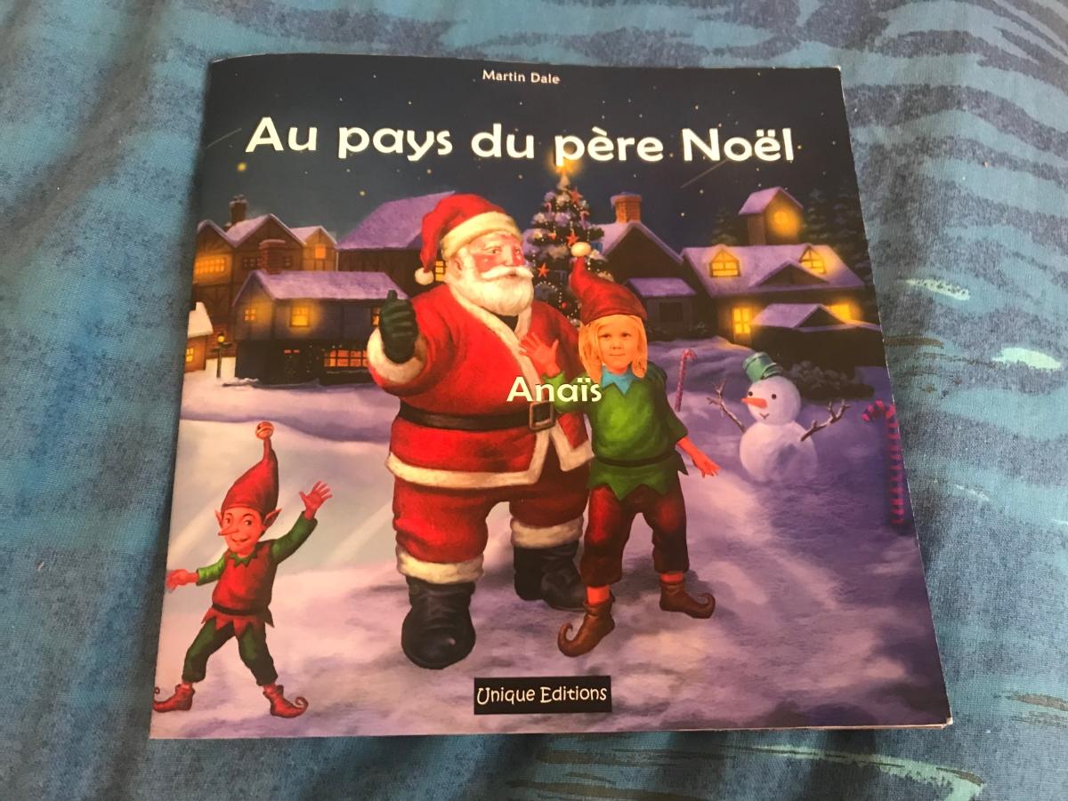 Anaïs a rencontre le Père Noël grâce àUnique!