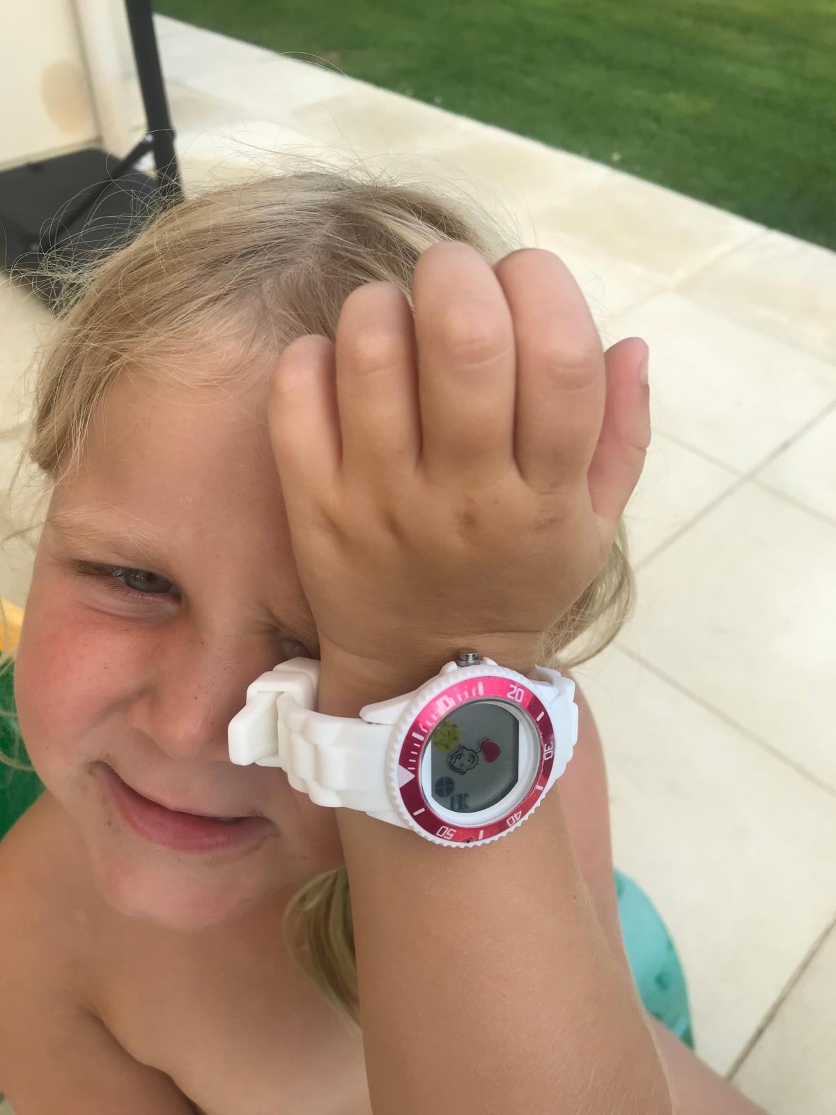 Une montre à 4 ans? C'estpossible!