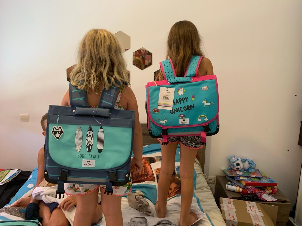 Les filles prêtes pour la rentrée avec PolFox!
