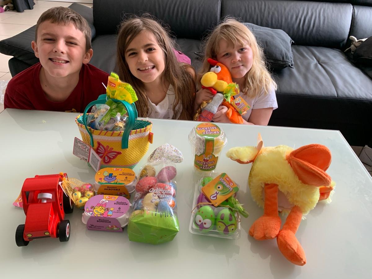 Du bon chocolat et des jouets pour Pâques avecFizzy!